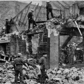 Hadd Auxiliary fire Service at work after Haddington bombing.jpg