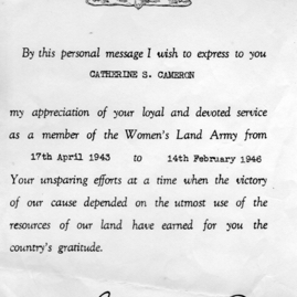 Catherine Cameron's WLA certificate of thanks.jpg