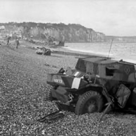 Abandoned British equipment, Dieppe.jpg