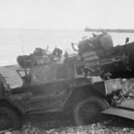 Abandoned British vehicles at Dieppe.jpg