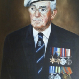 Harold O'Neill painted by his grand-daughter, Fiona Mitchell.png