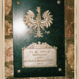 Polish memorial, Haddington Town House.jpg