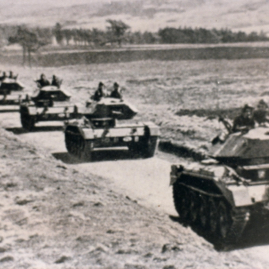 Polish tanks, Whiteadder b & w.jpg