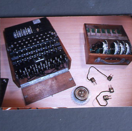 Enigma machine and rollers.jpg