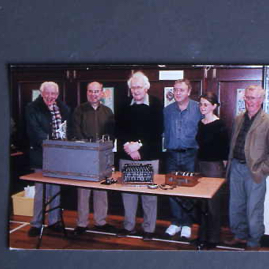 Jack & gang and Enigma machine.jpg