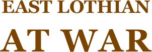 East Lothian At War Logo
